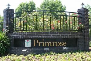 Entry Sign at Primrose Santa Rosa