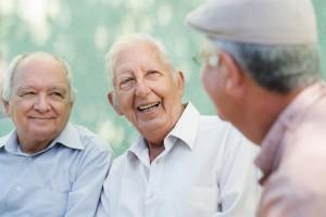 Happy Elderly Men