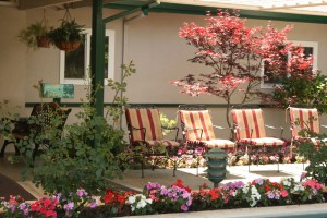 Outdoors at Assisted Living Facility