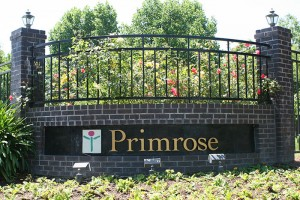 Entry Sign at Primrose Santa Rosa