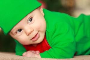 Baby Boy at Holidays